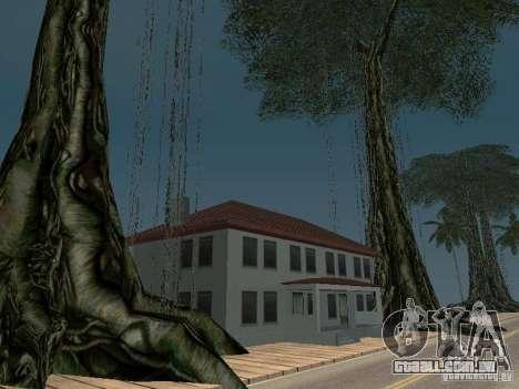 O mistério das ilhas tropicais para GTA San Andreas terceira tela