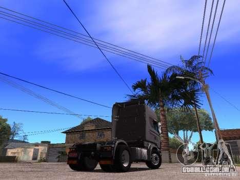 Scania R-440 para GTA San Andreas esquerda vista