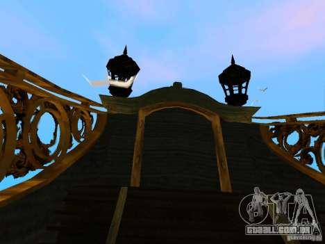 Queen Annes Revenge para GTA San Andreas vista interior