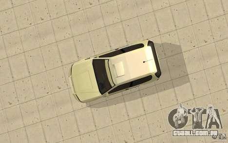 Honda Civic 1992 para GTA San Andreas vista direita