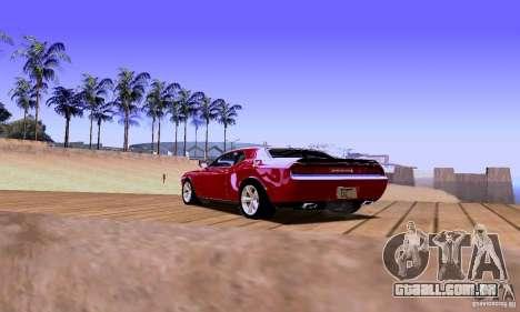 Dodge Challenger SRT8 2009 para GTA San Andreas esquerda vista