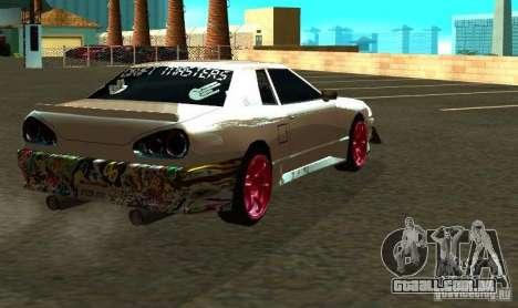 Elegy Drift Masters Final para GTA San Andreas vista traseira