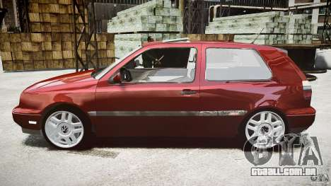 Volkswagen Golf MK3 GTI para GTA 4 esquerda vista