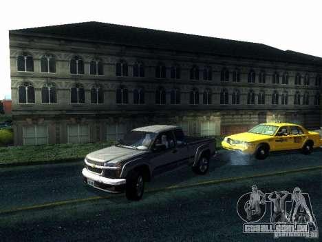 Chevrolet Colorado 2003 para GTA San Andreas traseira esquerda vista
