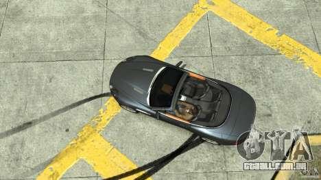 Aston Martin Volante DB9 para GTA 4 vista direita