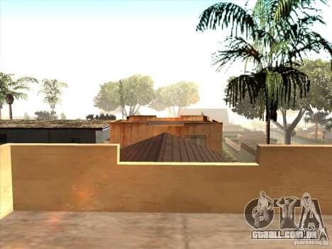 Mapa de Parkour e bmx para GTA San Andreas sexta tela