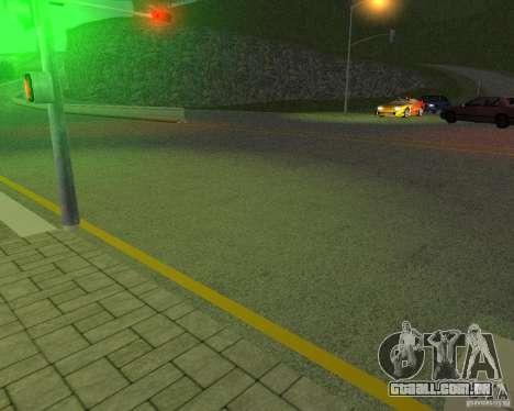 Novas estradas em San Fierro para GTA San Andreas quinto tela