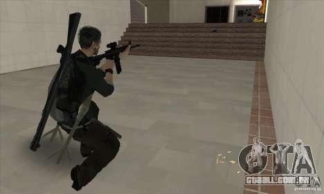Sam Fisher para GTA San Andreas quinto tela