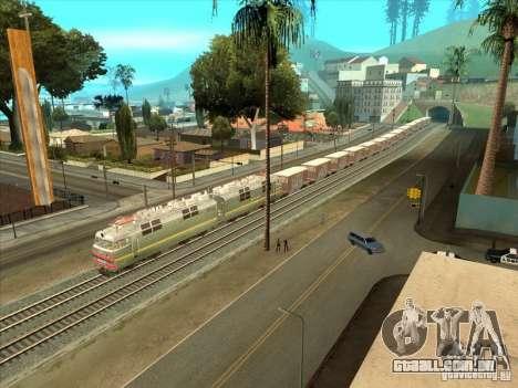 Vagões para GTA San Andreas esquerda vista