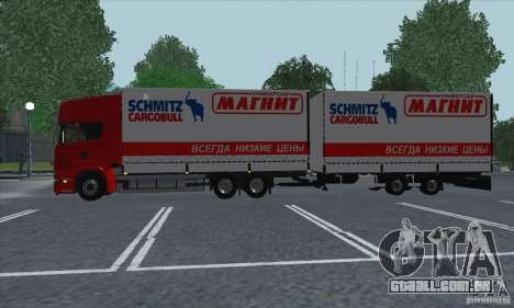 Scania R620 ímã para GTA San Andreas vista interior