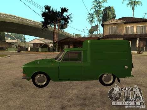 Versão inicial IZH 2715 para GTA San Andreas esquerda vista