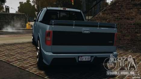 Saleen S331 [Final] para GTA 4 traseira esquerda vista
