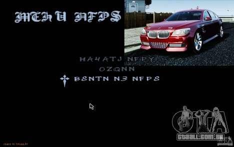 HUD do M0r1s para GTA San Andreas segunda tela