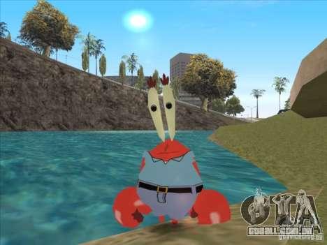 O Sr. Siriguejo para GTA San Andreas
