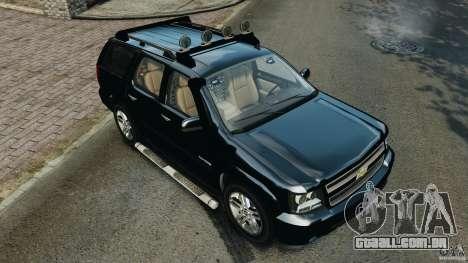 Chevrolet Tahoe LCPD SWAT para GTA 4 interior