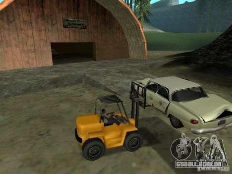 Carregador para GTA San Andreas esquerda vista