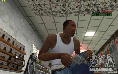 Colt Single Action Army para GTA San Andreas terceira tela