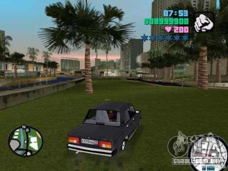 2105 Vaz para GTA Vice City vista direita