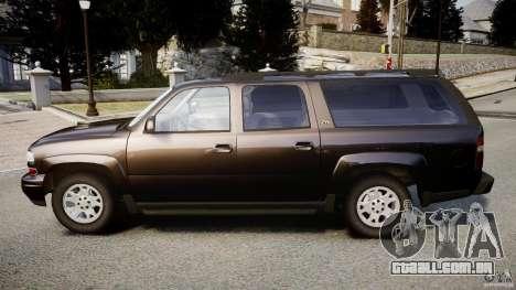 Chevrolet Suburban Z-71 2003 para GTA 4 esquerda vista