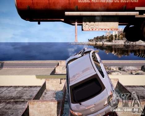 LC Crash Test Center para GTA 4 nono tela