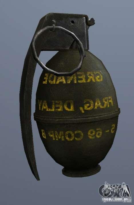 M61 Grenade para GTA San Andreas