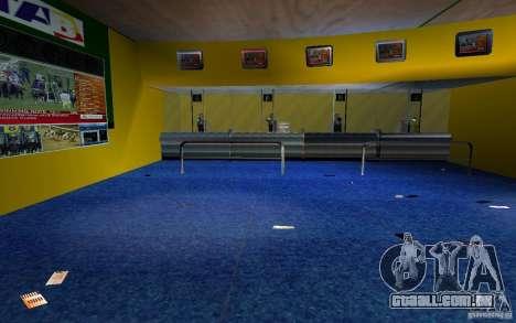 Novo escritório de Bukmejkerskaâ para GTA San Andreas por diante tela