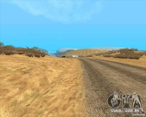 Desert HQ para GTA San Andreas segunda tela