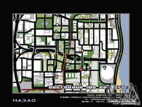 Serviço de carro perto de Grove para GTA San Andreas sexta tela