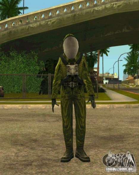 Peles de STALKER para GTA San Andreas