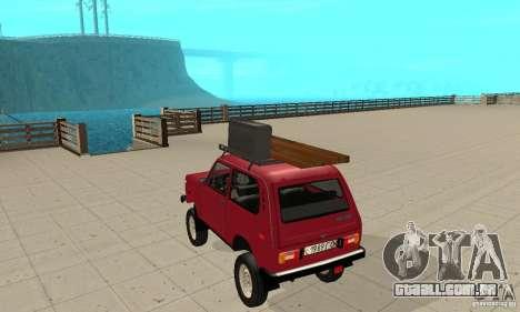 VAZ 2121 Niva para GTA San Andreas traseira esquerda vista