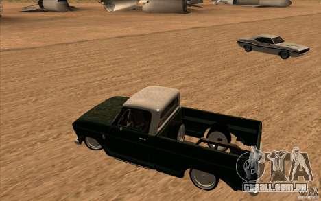 Chevrolet C-10 Fixxa para GTA San Andreas esquerda vista