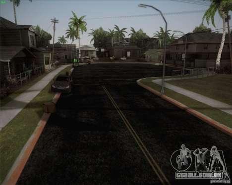 Novas estradas ao redor de San Andreas para GTA San Andreas terceira tela