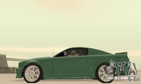 Saleen S281 v2 para GTA San Andreas vista direita