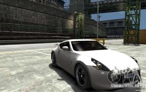 Nissan 370z Tuned Final para GTA 4 vista de volta