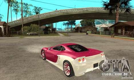 Ascari KZ-1 para GTA San Andreas