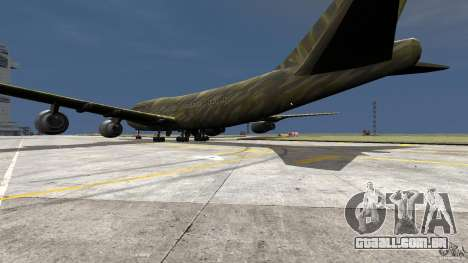 Airbus Military Mod para GTA 4 esquerda vista