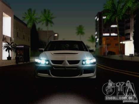 New Car Lights Effect para GTA San Andreas quinto tela