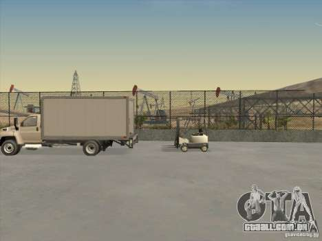GMC 5500 2001 para GTA San Andreas vista interior