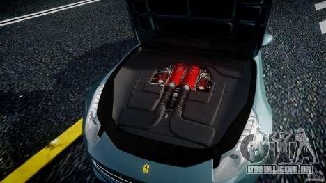 Ferrari FF 2012 para GTA 4 vista de volta