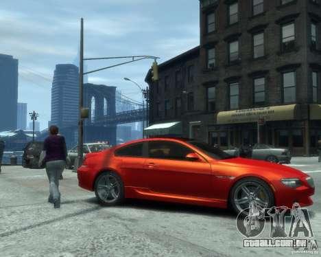 BMW M6 2010 v1.1 para GTA 4 esquerda vista