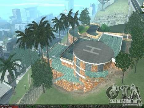Villa Nova Med-Dogg para GTA San Andreas por diante tela