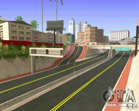Novas texturas de Los Santos para GTA San Andreas oitavo tela