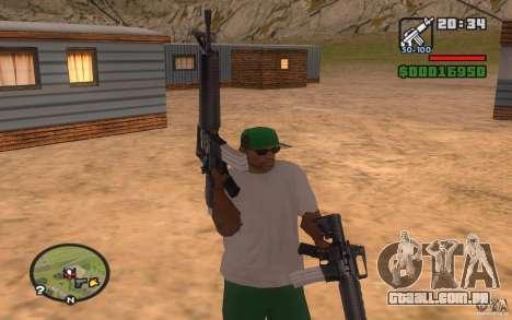 Double weapons para GTA San Andreas segunda tela