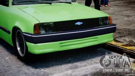 Chevrolet Chevette 1.6 1993 para GTA 4 vista lateral