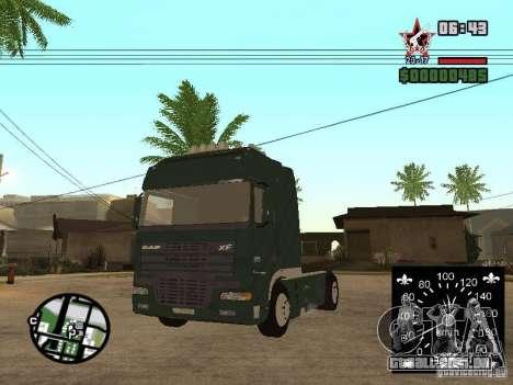 DAF XF para GTA San Andreas