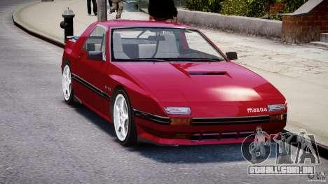 Mazda RX7 FC3S v2 FINAL para GTA 4 vista direita