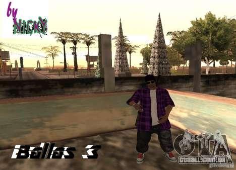 Pak peles Ballas para GTA San Andreas terceira tela
