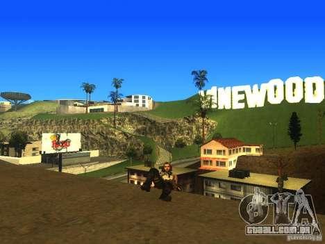 Animation Mod para GTA San Andreas nono tela