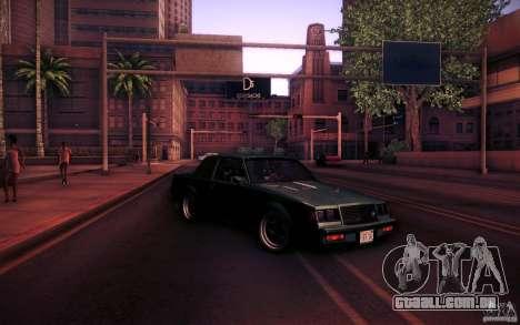 Buick Regal GNX para GTA San Andreas vista superior