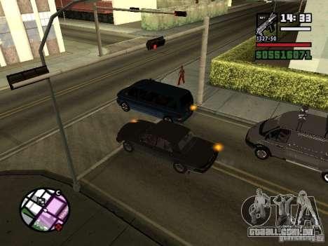 Piscas 2.1 para GTA San Andreas segunda tela